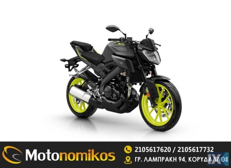 Yamaha MT-01 125 *BLACK FRIDAY -710€* '18 - 3.990