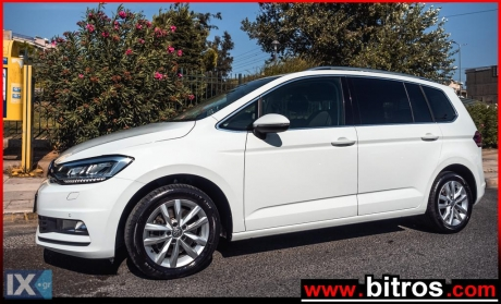 Volkswagen Touran 1.6 116HP ADVANCE 7ΘΕΣΙΟ '17 '17 - 18.300